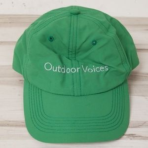 42c863c1460 Outdoor Voices Aspen Green Velcro Cap Hat